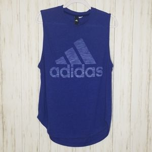 🦃 3 for $20 Adidas Blue Workout Tank